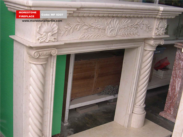 Marble Fireplace Mantel Code MF5207