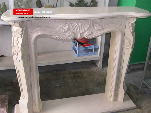 Marble Fireplace Mantel Code MF5208